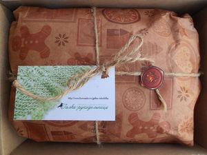 Новогодняя упаковка к каждому изделию в подарок!. Ярмарка Мастеров - ручная работа, handmade.