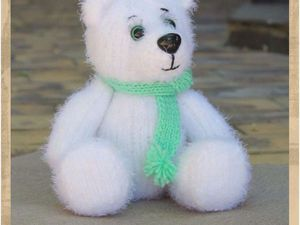 Снежный Мишка ищет дом). Ярмарка Мастеров - ручная работа, handmade.