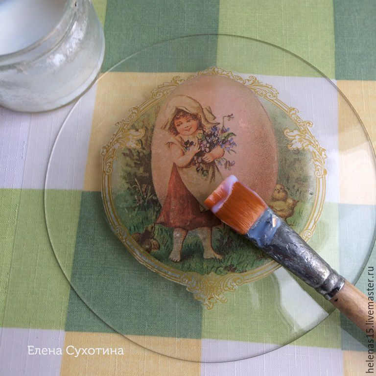 мастер класс по тарелке