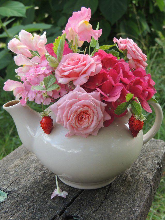 бумажная картина, розы
