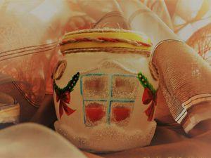 Создаем подсвечник «Новогодняя ночь». Ярмарка Мастеров - ручная работа, handmade.