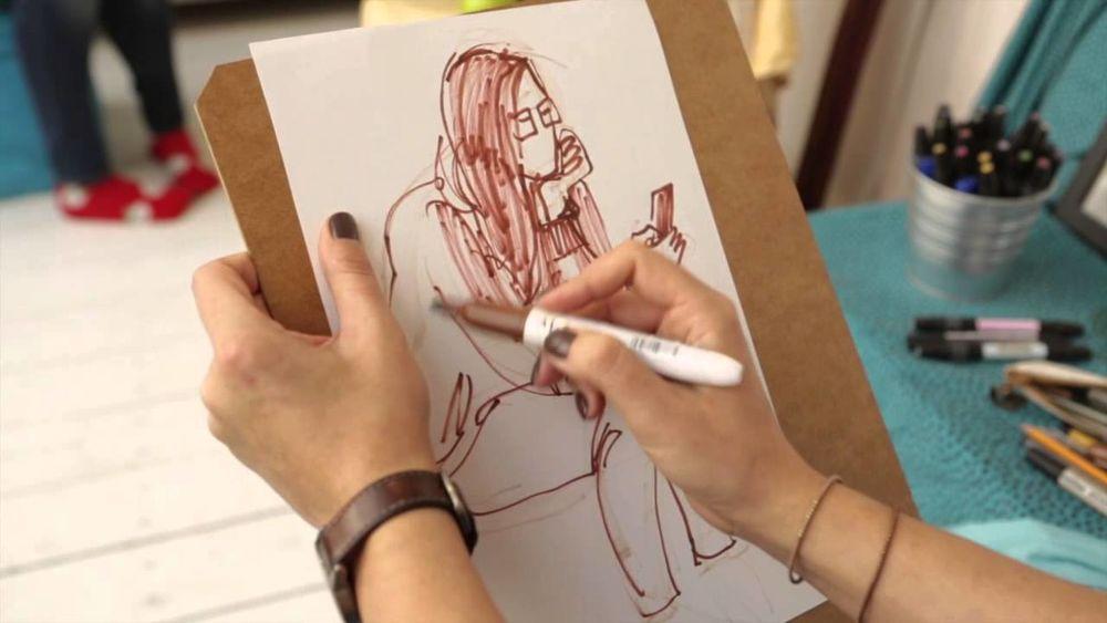 Рисунок с чего начать видео