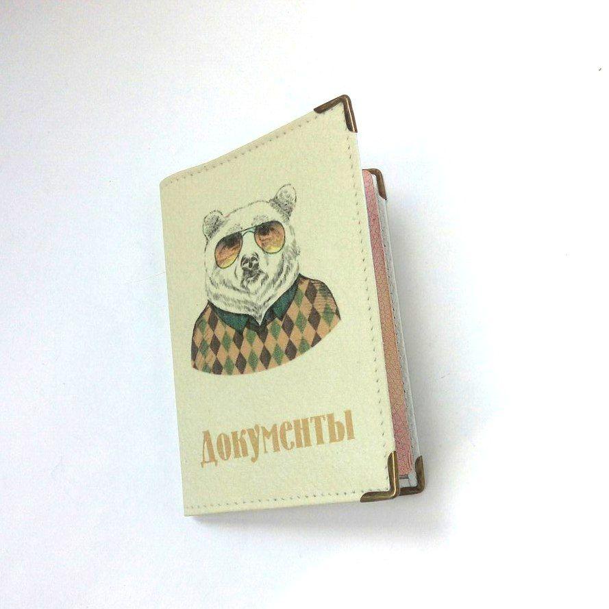 обложка на паспорт, фото работ