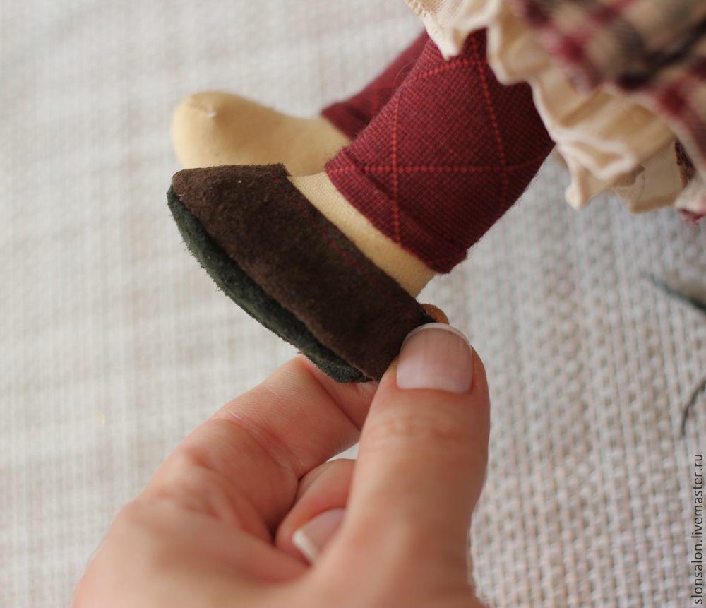 как сшить босоножки