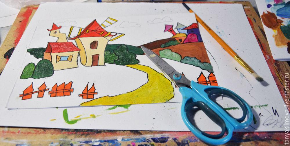 Развиваем детей с помощью аппликации «сказочный город», фото № 16