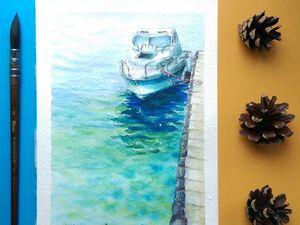 На волнах качается.... Ярмарка Мастеров - ручная работа, handmade.