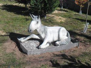 Процесс создания мечты: садовая скульптура «Единорог» своими руками. Ярмарка Мастеров - ручная работа, handmade.