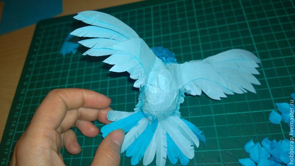 Птица из бумаги своими руками пошагово 43