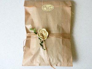 Праздничная упаковка текстиля. Ярмарка Мастеров - ручная работа, handmade.