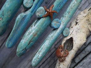 Море волнуется раз — два — три, морская ёлка, замри! Делаем необычную елочку к Новому году. Ярмарка Мастеров - ручная работа, handmade.