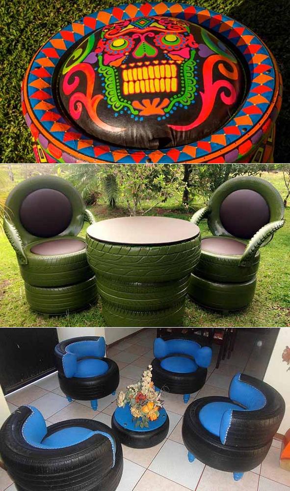 мебель из резины