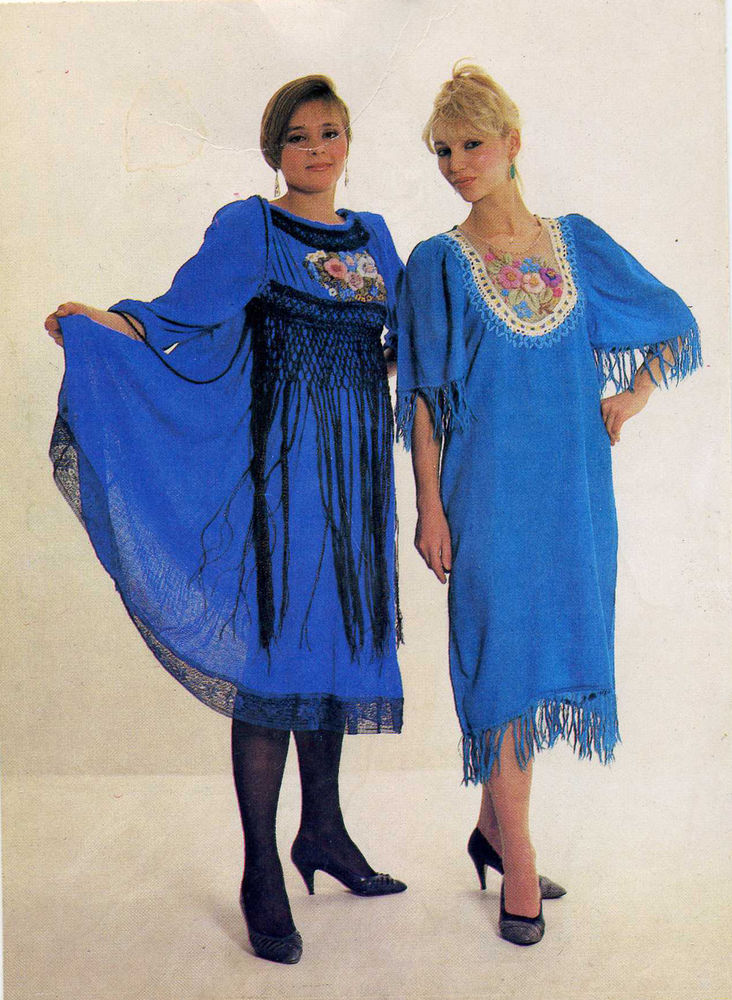 fashion of the 80s