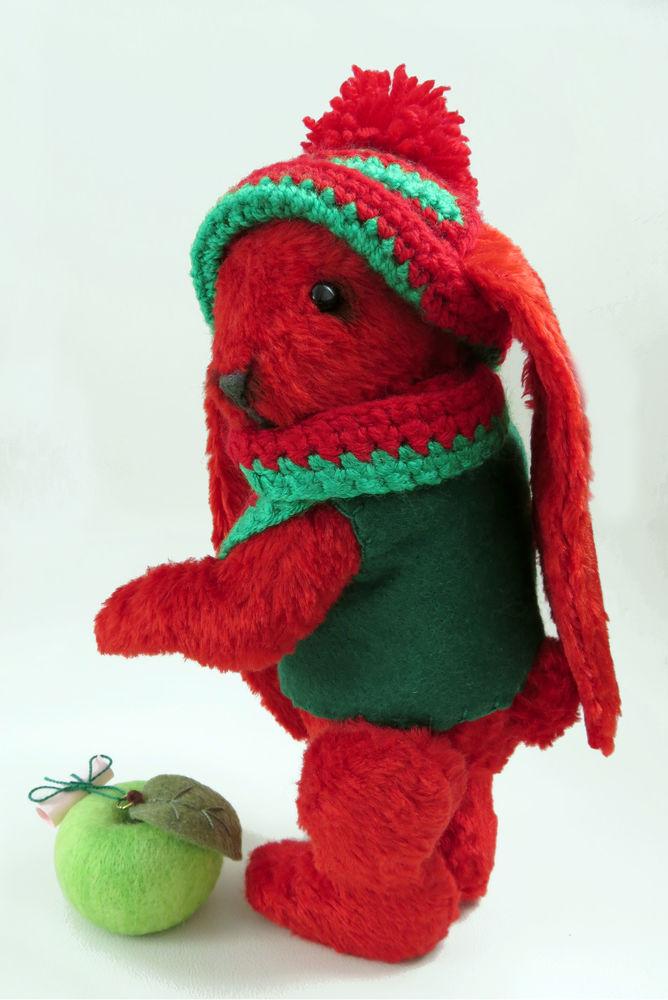 новости замышляндии, мишки тедди, красный плюшевый заяц, купить подарок девочке