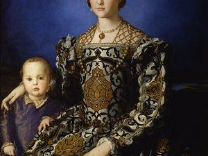 Украшения на портрете Элеоноры Толедской. Ярмарка Мастеров - ручная работа, handmade.