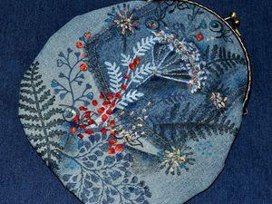 Шьем косметичку «Лютики-цветочки» (набойка, притенение, вышивка). Ярмарка Мастеров - ручная работа, handmade.