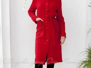 Аукцион на Вязаное пальто! Старт 2500 руб.!!. Ярмарка Мастеров - ручная работа, handmade.