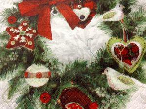 Скидки на новогодние салфетки. Ярмарка Мастеров - ручная работа, handmade.