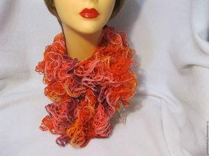 Как сохранить пышность и красоту ажурных шарфиков - авторские советы. Ярмарка Мастеров - ручная работа, handmade.