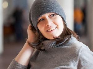Новая идеальная серая шапка. Ярмарка Мастеров - ручная работа, handmade.