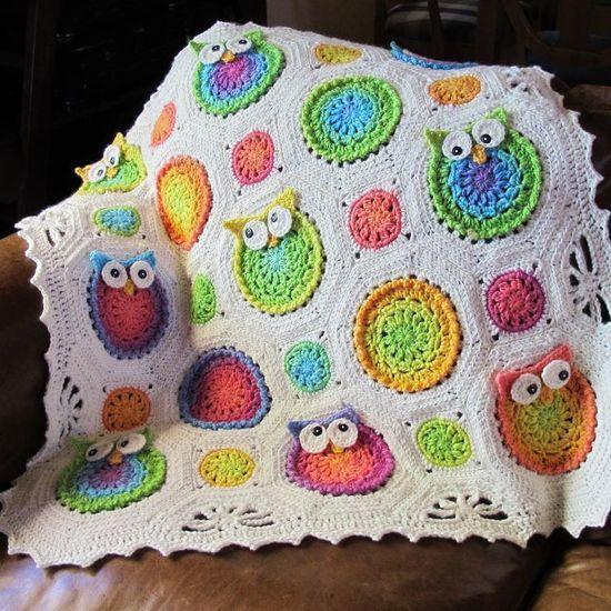 Crocheted Owl | <a href=