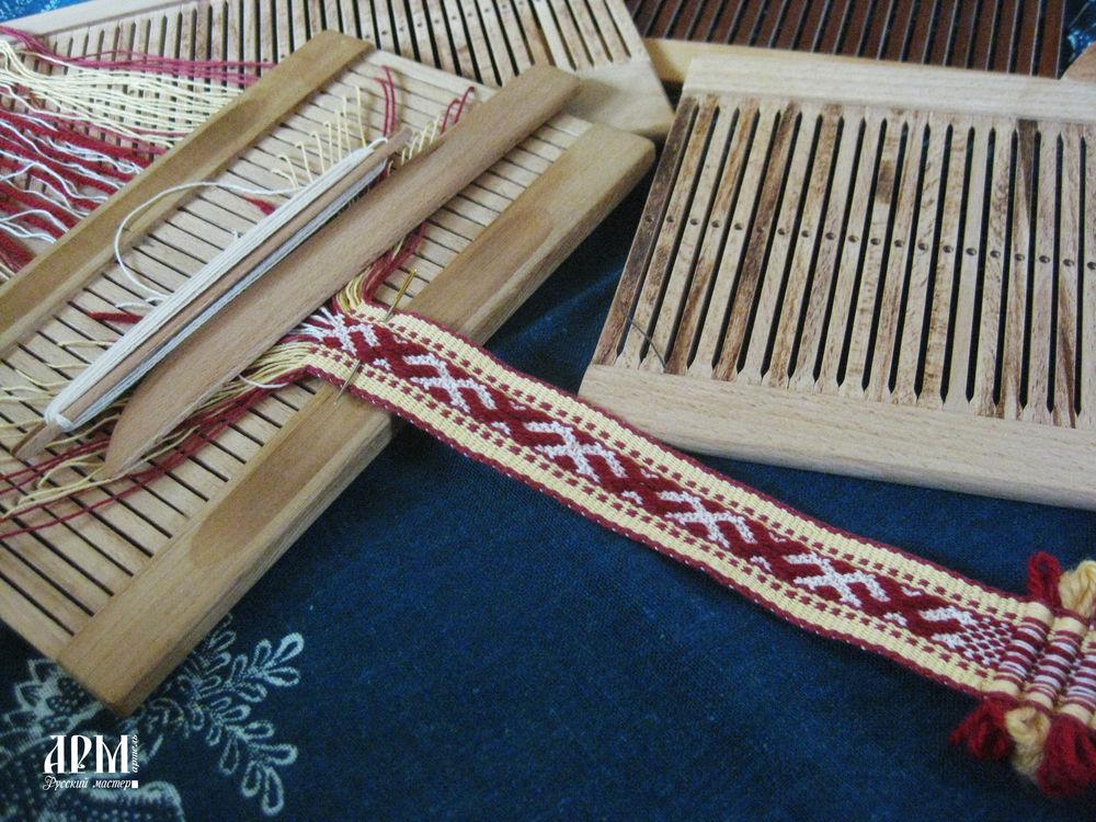 ручное ткачество, ткачество на бердышке
