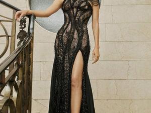 Женственность, фактурные ткани, невероятная вышивка и нежные оттенки. Atelier Versace весна-лето 2017. Ярмарка Мастеров - ручная работа, handmade.