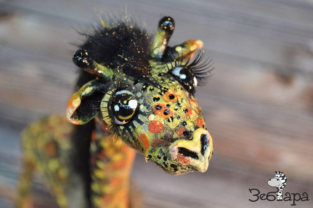 игрушка, жирафик боня