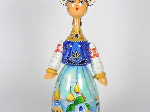 Русские сказки - новые расписные куклы | Ярмарка Мастеров - ручная работа, handmade
