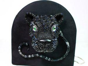 Сумочка Черная пантера. Ярмарка Мастеров - ручная работа, handmade.