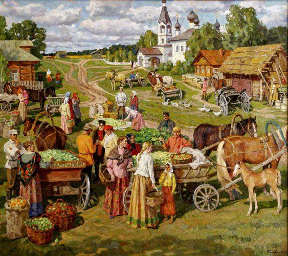 преображение, русский стиль