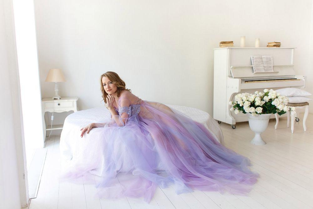 платья из фатина, свадебное белье