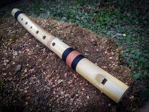 Тростниковая свирель Си №2. Ярмарка Мастеров - ручная работа, handmade.