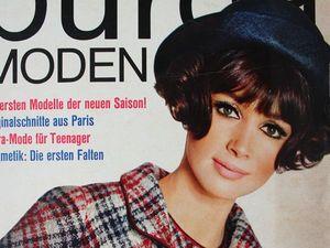 Burda moden 8/1965 Бурда Моден. Ярмарка Мастеров - ручная работа, handmade.