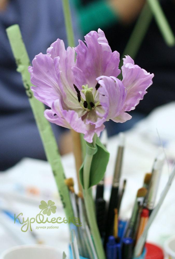 мк лепка цветов