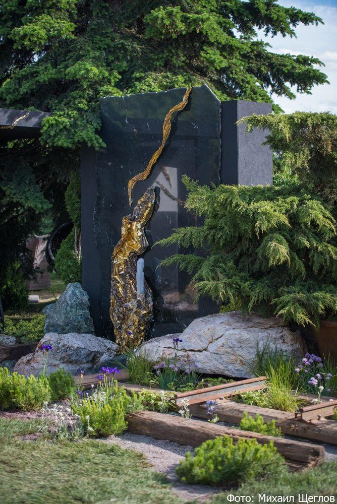 выставка садов, ландшафтный дизайн