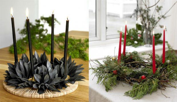 адвент, виртуальный календарь, норвегия, свечи