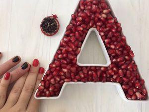 А - значит Анна | Ярмарка Мастеров - ручная работа, handmade