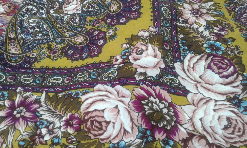 платок, шерстяной платок