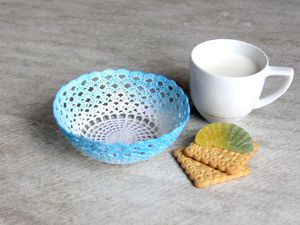 Видеоурок: превращаем текстильную салфетку в декоративную вазочку. Ярмарка Мастеров - ручная работа, handmade.