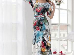 Аукцион на яркое летнее платьице! Старт 1500 р. !. Ярмарка Мастеров - ручная работа, handmade.