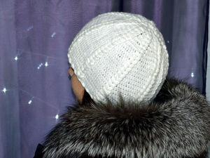 Видео мастер-класс по вязанию шапочки крючком. Ярмарка Мастеров - ручная работа, handmade.