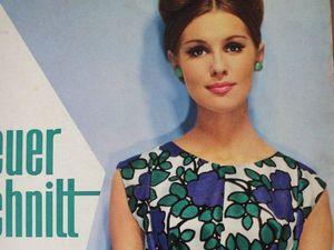 Neuer Schnitt — старый немецкий журнал мод 7/1963. Ярмарка Мастеров - ручная работа, handmade.