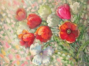 Картины цветов и пейзажи! Цены снижены! От 850 р.. | Ярмарка Мастеров - ручная работа, handmade