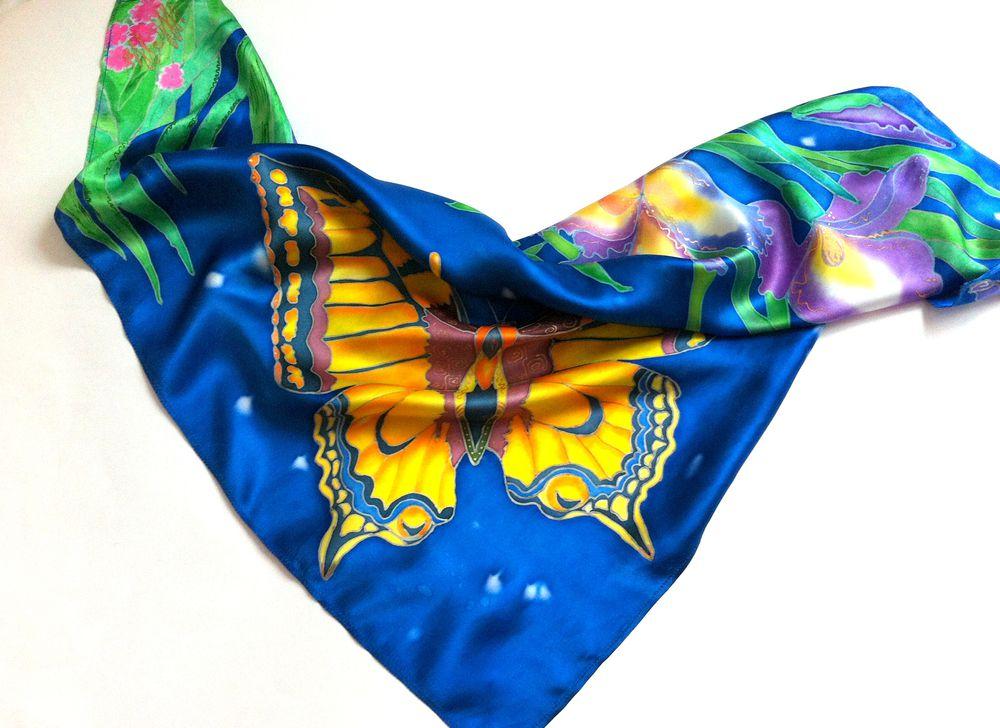 подписчики, прекрасный махаон, женский шарф