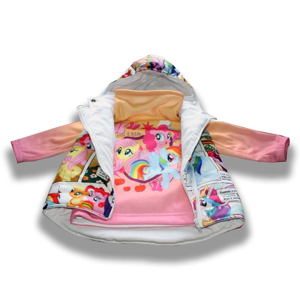 скидка, принт, мой маленький пони, купить безрукавку, подарок, стильная, куртка