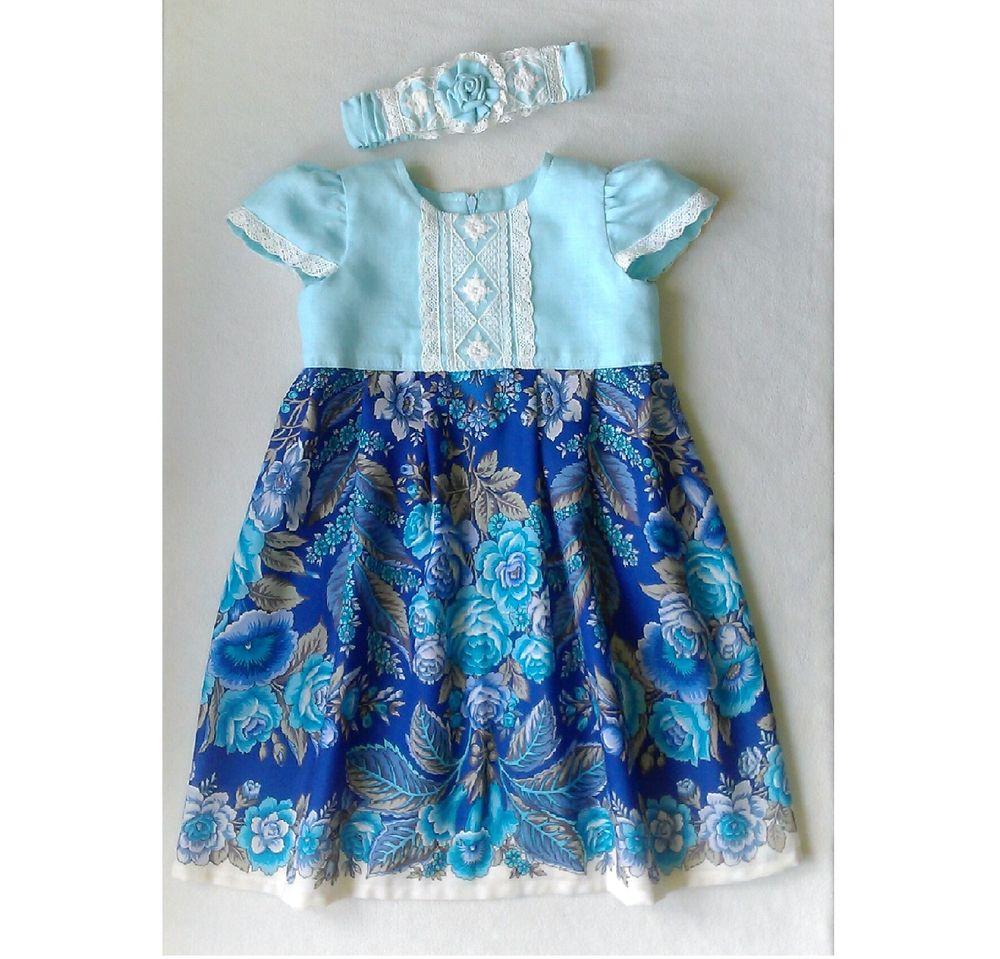 платья из платочков