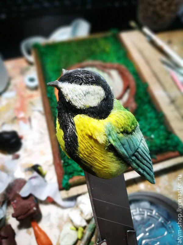 блокнот, птица