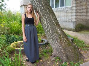 Как сшить длинную юбку-колокол: видеоурок. Ярмарка Мастеров - ручная работа, handmade.