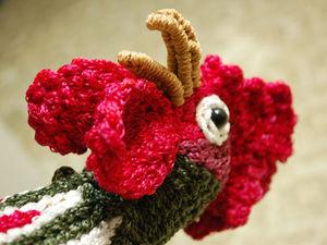 Год петуха - плетение из шнура   Ярмарка Мастеров - ручная работа, handmade