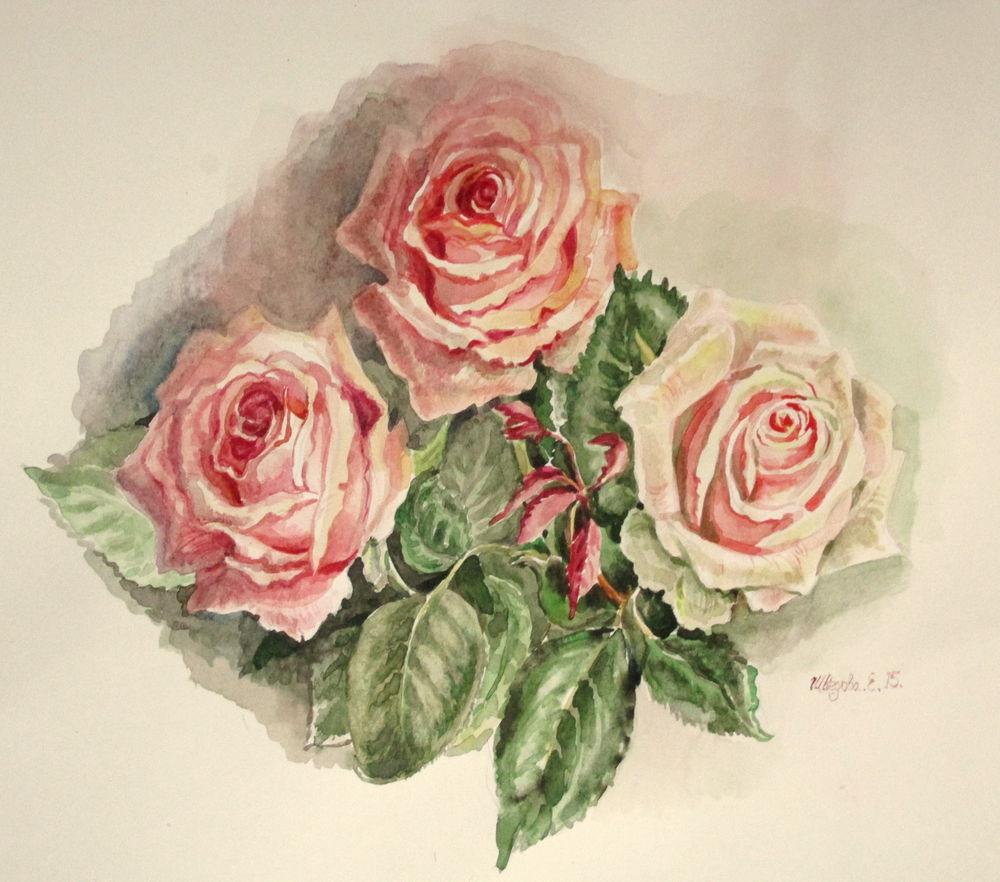 скидка 20%, чёрная пятница, акварель, акварельная живопись, розы, акварельная картина, цветы акварелью, ярмарка мастеров, авторская работа, купить со скидкой, скидка, купить недорого